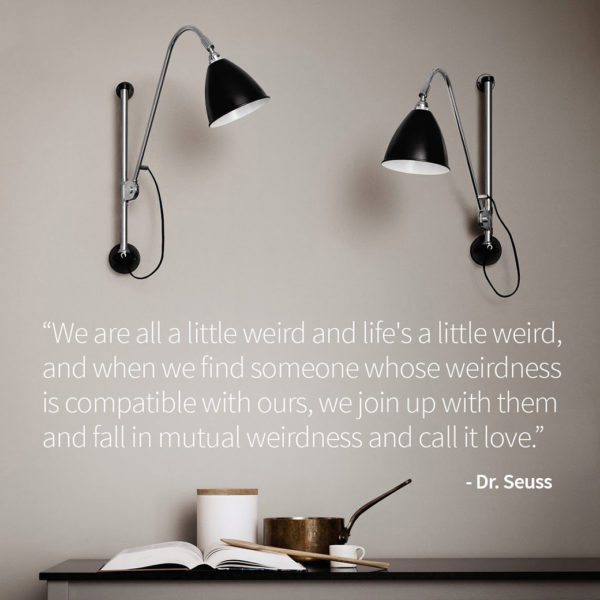 Blog image Share a Dr Suess Quote! Olson and Baker - Designer & Contemporary Sofas, Furniture - Olson and Baker showcases original designs from authentic, designer brands. Buy contemporary furniture, lighting, storage, sofas & chairs at Olson + Baker.