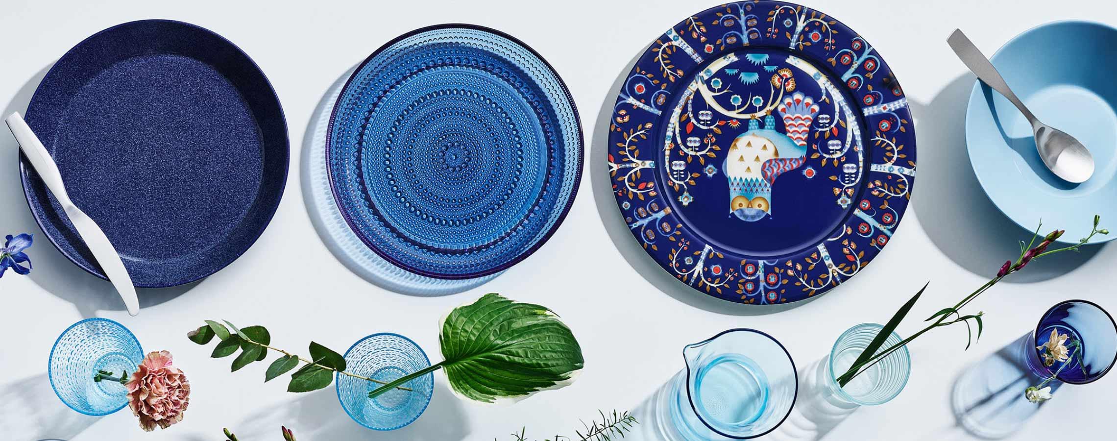 Iittala Kastehelmi and Taika collections