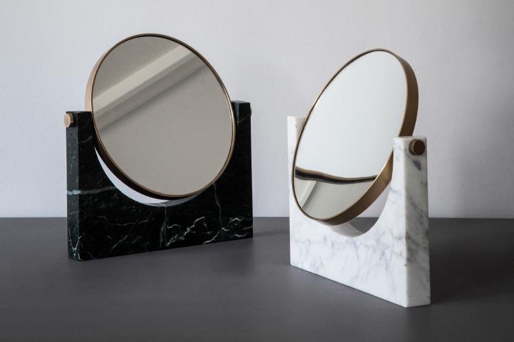Menu Pepe marble mirror by Pepe Studio