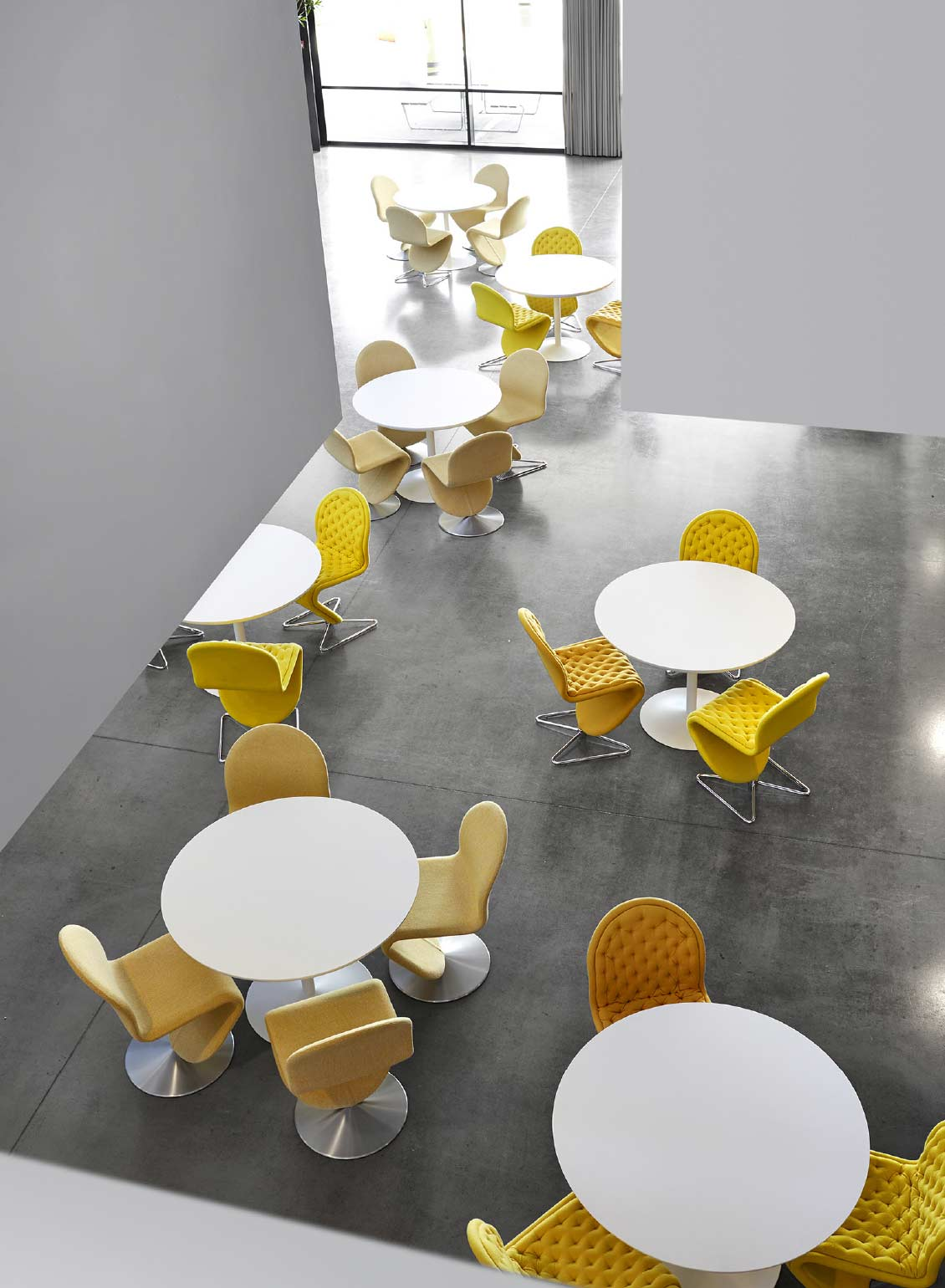 Verpan 123 lounge dining chair by Verner Panton