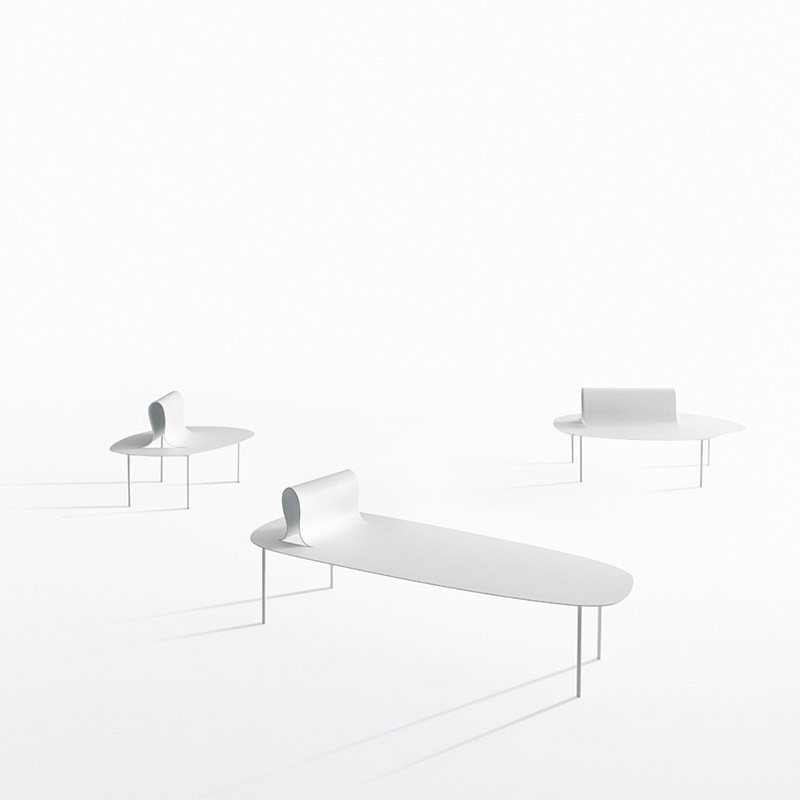 Desalto-Softer-than-Steel-Chaise-by-Nendo-1 Olson and Baker - Designer & Contemporary Sofas, Furniture - Olson and Baker showcases original designs from authentic, designer brands. Buy contemporary furniture, lighting, storage, sofas & chairs at Olson + Baker.