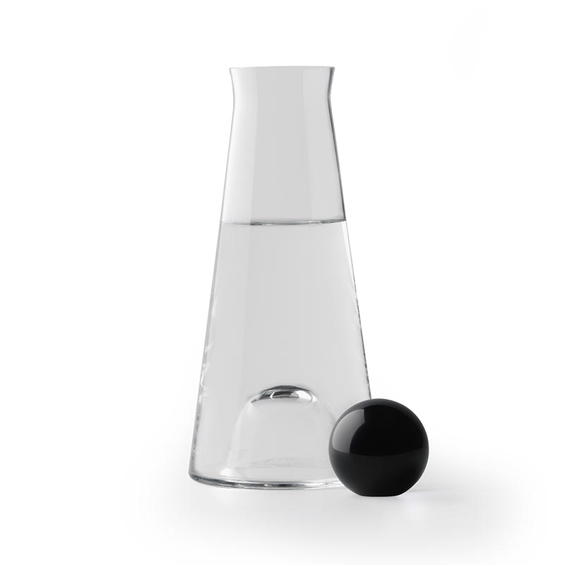 Design House Stockholm Fia Carafe by Nina Jobs Olson and Baker - Designer & Contemporary Sofas, Furniture - Olson and Baker showcases original designs from authentic, designer brands. Buy contemporary furniture, lighting, storage, sofas & chairs at Olson + Baker.