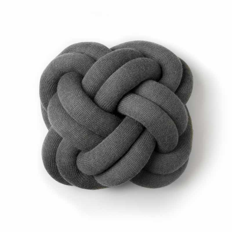Design House Stockholm Knot Cushion by Ragnheidur Osp Olson and Baker - Designer & Contemporary Sofas, Furniture - Olson and Baker showcases original designs from authentic, designer brands. Buy contemporary furniture, lighting, storage, sofas & chairs at Olson + Baker.