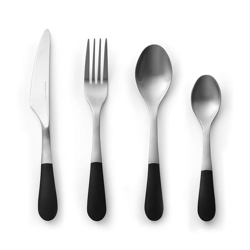 Design House Stockholm Stockholm Cutlery 24 Piece Gift Set by Jesper Stahl Olson and Baker - Designer & Contemporary Sofas, Furniture - Olson and Baker showcases original designs from authentic, designer brands. Buy contemporary furniture, lighting, storage, sofas & chairs at Olson + Baker.