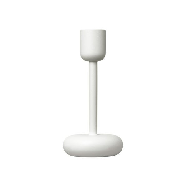 Clearance - Nappula 183mm Candleholder - White (set of two)