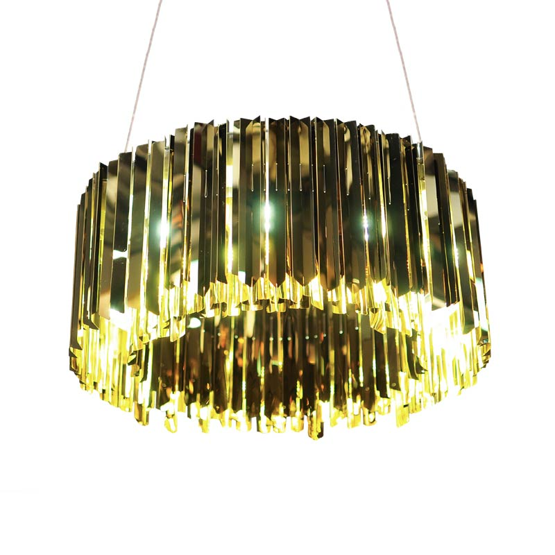 Innermost Facet Round Chandelier by Tom Kirk Olson and Baker - Designer & Contemporary Sofas, Furniture - Olson and Baker showcases original designs from authentic, designer brands. Buy contemporary furniture, lighting, storage, sofas & chairs at Olson + Baker.