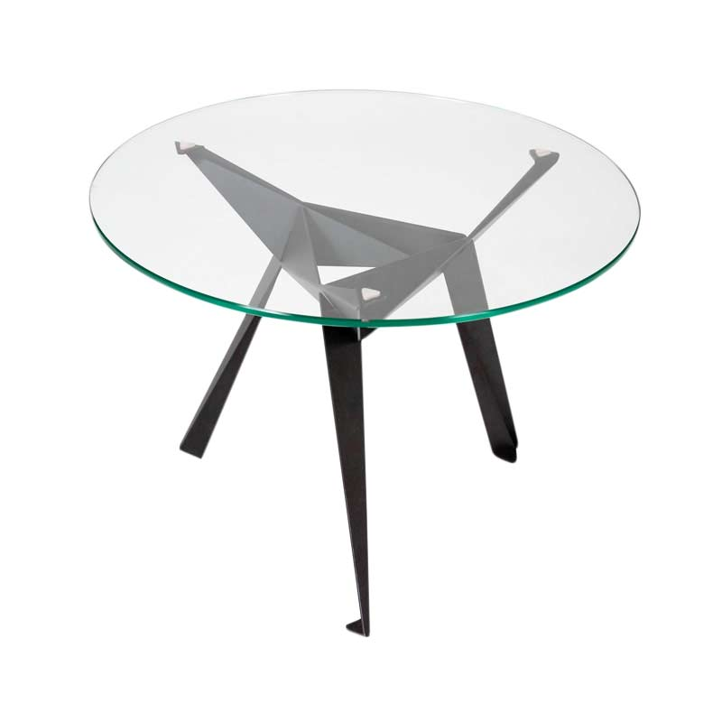 Innermost Origami Round Ø130cm Dining Table by Anthony Dickens Olson and Baker - Designer & Contemporary Sofas, Furniture - Olson and Baker showcases original designs from authentic, designer brands. Buy contemporary furniture, lighting, storage, sofas & chairs at Olson + Baker.