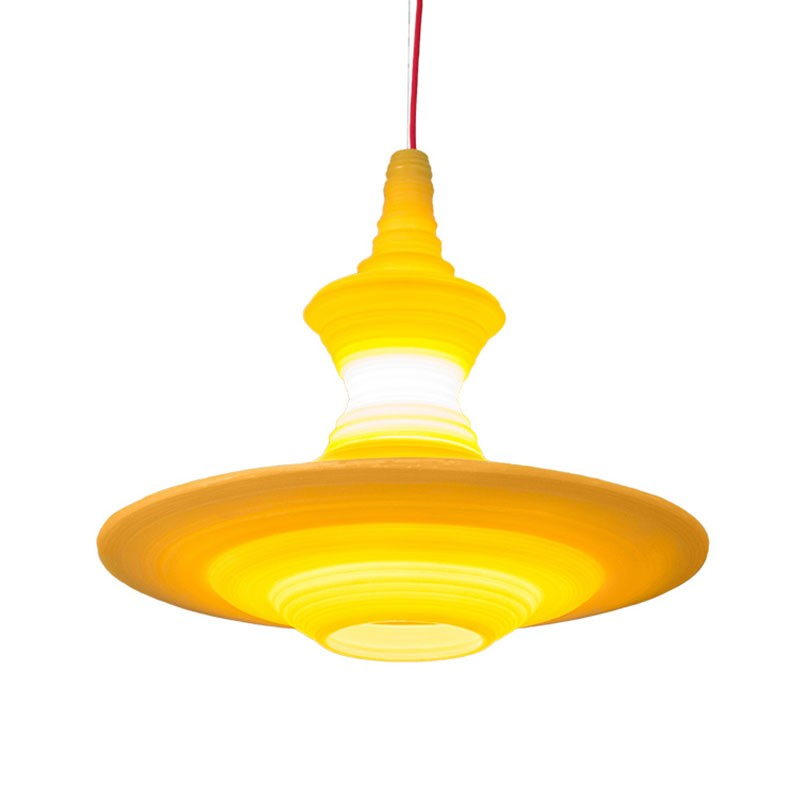 Innermost Stupa Pendant Light by Freshwest Olson and Baker - Designer & Contemporary Sofas, Furniture - Olson and Baker showcases original designs from authentic, designer brands. Buy contemporary furniture, lighting, storage, sofas & chairs at Olson + Baker.