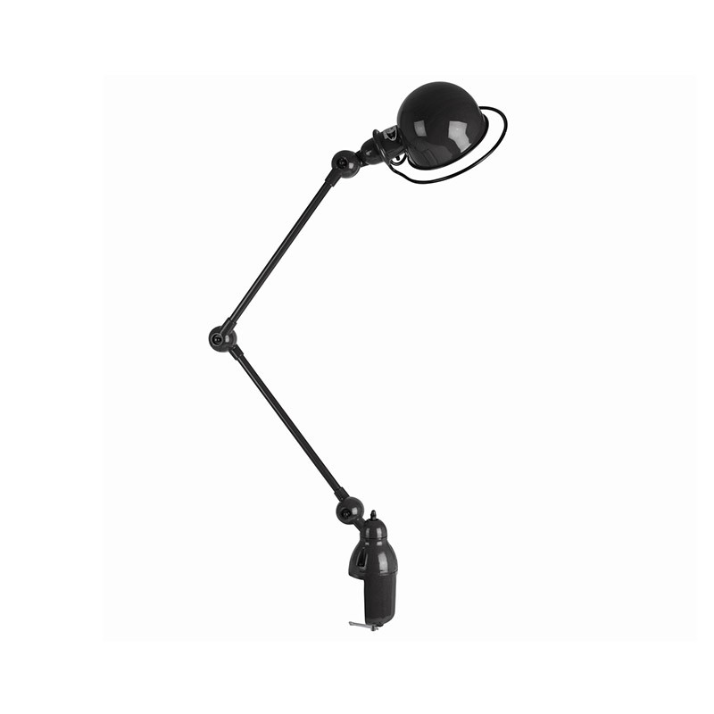 Jielde Loft D4040 Desk Lamp with Two Arms and Desk Support by Jean-Louis Domecq Olson and Baker - Designer & Contemporary Sofas, Furniture - Olson and Baker showcases original designs from authentic, designer brands. Buy contemporary furniture, lighting, storage, sofas & chairs at Olson + Baker.