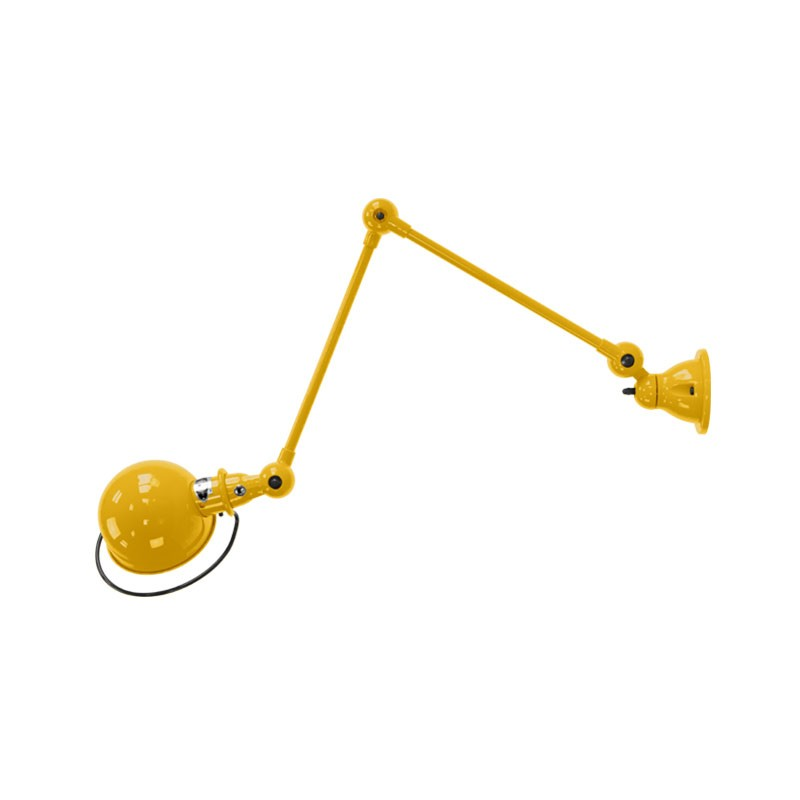 Jielde Loft D4401 Wall Lamp with Two Arm by Jean-Louis Domecq Olson and Baker - Designer & Contemporary Sofas, Furniture - Olson and Baker showcases original designs from authentic, designer brands. Buy contemporary furniture, lighting, storage, sofas & chairs at Olson + Baker.