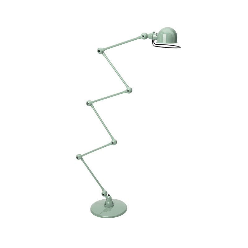 Jielde Loft D9406 Floor Lamp with Six Arms by Jean-Louis Domecq Olson and Baker - Designer & Contemporary Sofas, Furniture - Olson and Baker showcases original designs from authentic, designer brands. Buy contemporary furniture, lighting, storage, sofas & chairs at Olson + Baker.