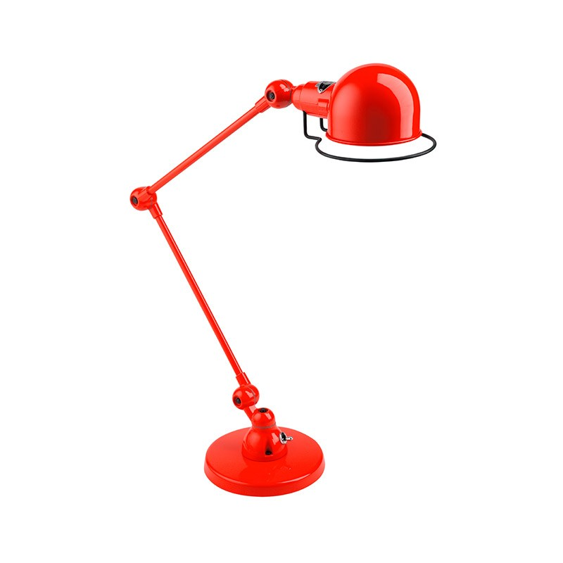 Jielde Signal SI333 Desk Lamp with Two Arms by Jean-Louis Domecq Olson and Baker - Designer & Contemporary Sofas, Furniture - Olson and Baker showcases original designs from authentic, designer brands. Buy contemporary furniture, lighting, storage, sofas & chairs at Olson + Baker.