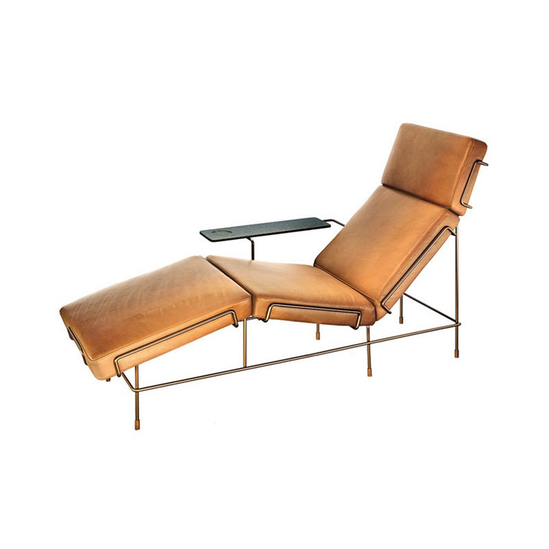 Magis Traffic Chaise Lounge by Konstantin Grcic Olson and Baker - Designer & Contemporary Sofas, Furniture - Olson and Baker showcases original designs from authentic, designer brands. Buy contemporary furniture, lighting, storage, sofas & chairs at Olson + Baker.