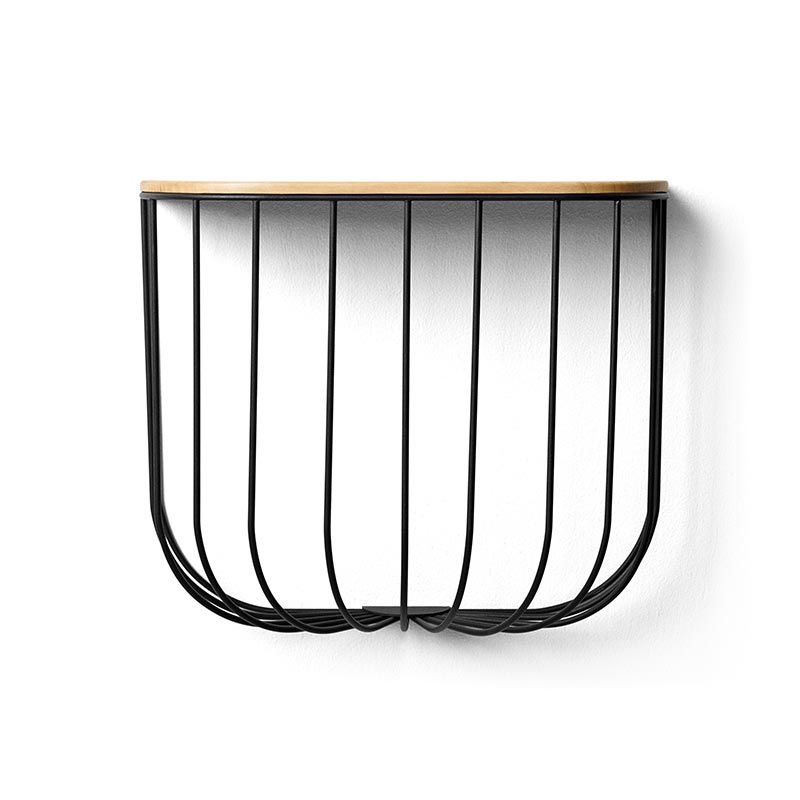 Menu Cage Shelf by Form us with Love Olson and Baker - Designer & Contemporary Sofas, Furniture - Olson and Baker showcases original designs from authentic, designer brands. Buy contemporary furniture, lighting, storage, sofas & chairs at Olson + Baker.