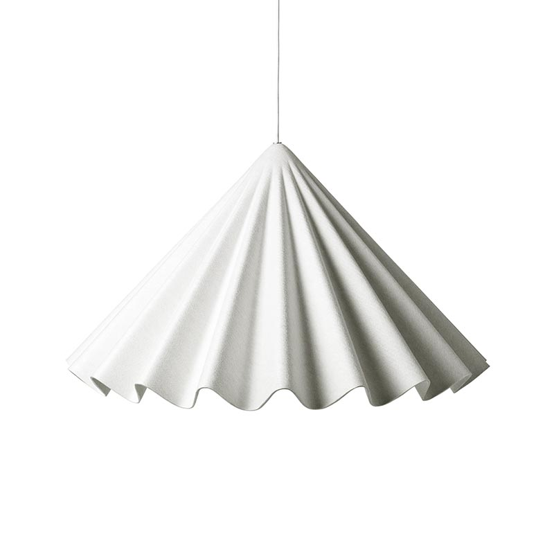 Menu Dancing Pendant Light in White by Iskos-Berlin Olson and Baker - Designer & Contemporary Sofas, Furniture - Olson and Baker showcases original designs from authentic, designer brands. Buy contemporary furniture, lighting, storage, sofas & chairs at Olson + Baker.