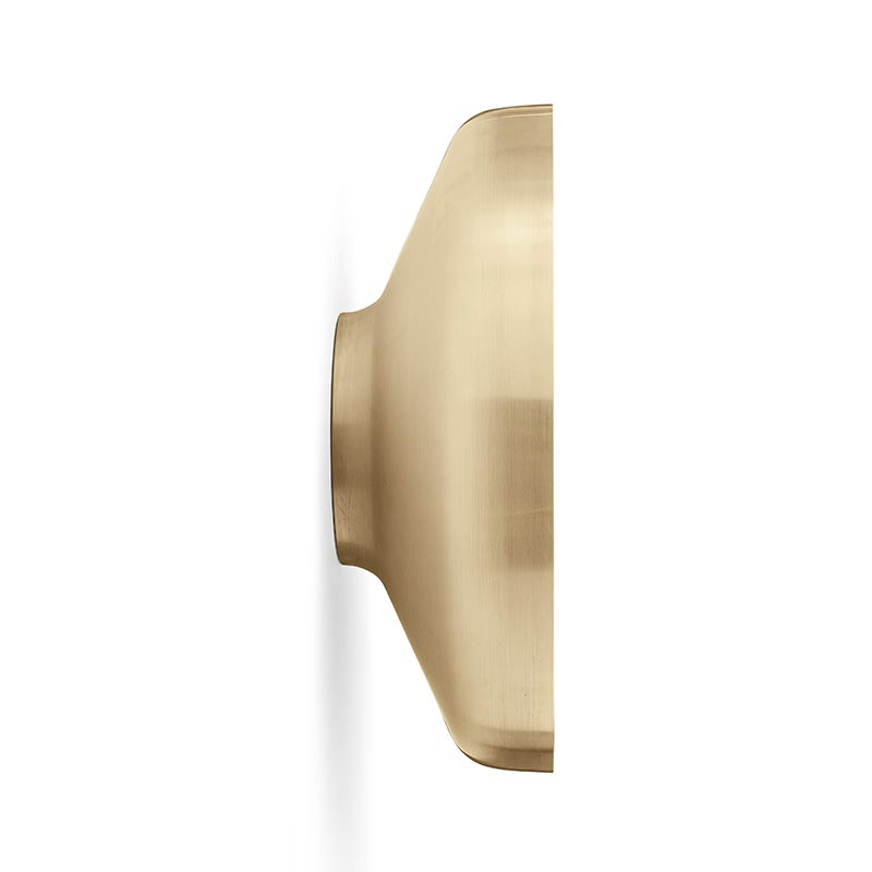 Menu-Darkly-Brushed-Brass-Mirror-by-Nick-Ross-Studio-2 Olson and Baker - Designer & Contemporary Sofas, Furniture - Olson and Baker showcases original designs from authentic, designer brands. Buy contemporary furniture, lighting, storage, sofas & chairs at Olson + Baker.