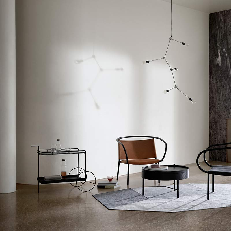 Menu-Harrison-Chandelier-by-Søren-Rose-Studio-1 Olson and Baker - Designer & Contemporary Sofas, Furniture - Olson and Baker showcases original designs from authentic, designer brands. Buy contemporary furniture, lighting, storage, sofas & chairs at Olson + Baker.