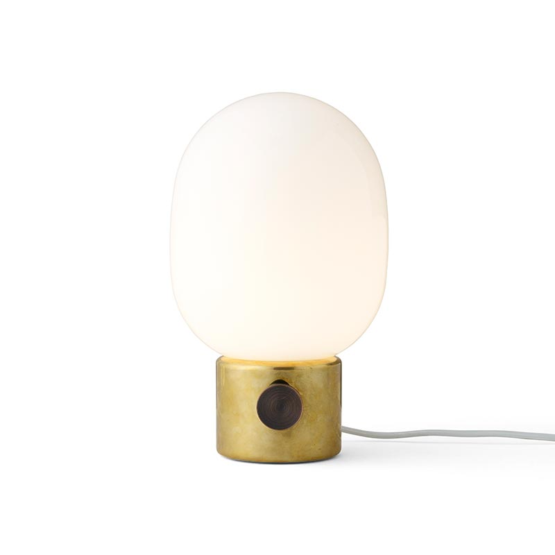 Menu JWDA Metallic Table Lamp by Jonas Wagell Olson and Baker - Designer & Contemporary Sofas, Furniture - Olson and Baker showcases original designs from authentic, designer brands. Buy contemporary furniture, lighting, storage, sofas & chairs at Olson + Baker.