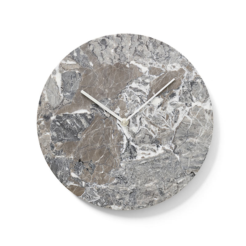 Menu Marble Wall Clock by Norm Architects Olson and Baker - Designer & Contemporary Sofas, Furniture - Olson and Baker showcases original designs from authentic, designer brands. Buy contemporary furniture, lighting, storage, sofas & chairs at Olson + Baker.
