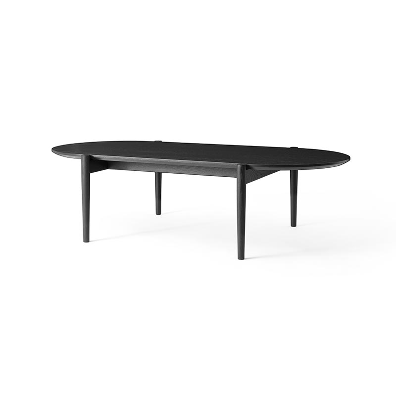 Menu Septembre Coffee Table in Black by Theresa Arns Olson and Baker - Designer & Contemporary Sofas, Furniture - Olson and Baker showcases original designs from authentic, designer brands. Buy contemporary furniture, lighting, storage, sofas & chairs at Olson + Baker.