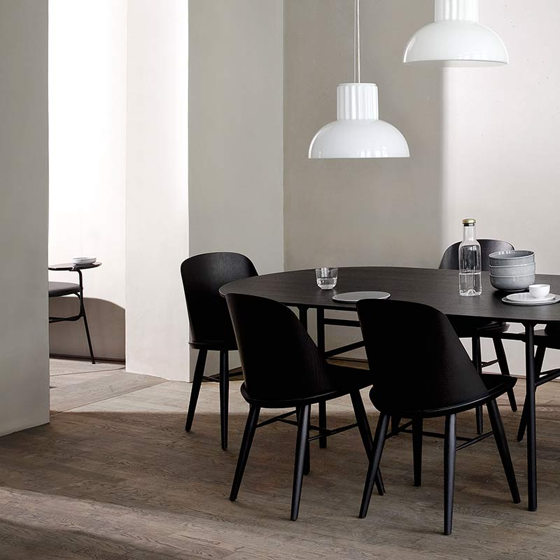 Menu-Snaregade-Oval-210x95cm-Table-by-Norm-Architects-1 Olson and Baker - Designer & Contemporary Sofas, Furniture - Olson and Baker showcases original designs from authentic, designer brands. Buy contemporary furniture, lighting, storage, sofas & chairs at Olson + Baker.