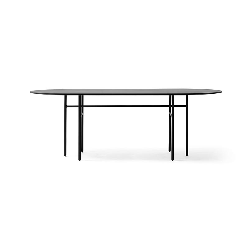 Menu Snaregade Oval 210x95cm Table by Norm Architects Olson and Baker - Designer & Contemporary Sofas, Furniture - Olson and Baker showcases original designs from authentic, designer brands. Buy contemporary furniture, lighting, storage, sofas & chairs at Olson + Baker.