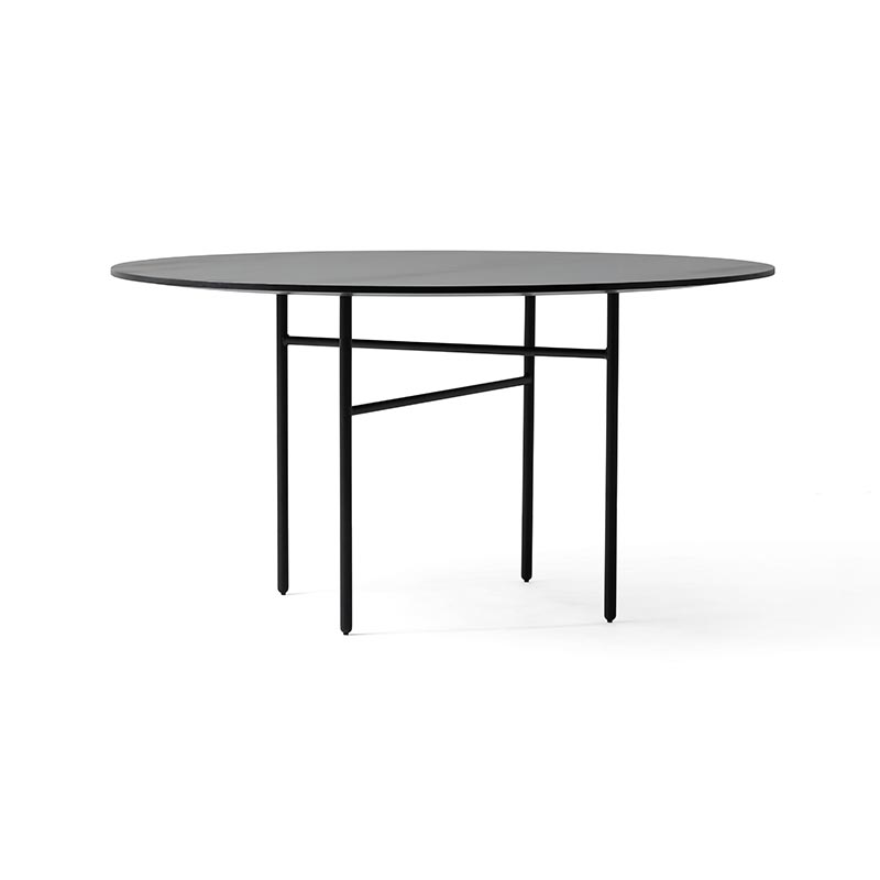 Menu Snaregade Round Ø138cm Table by Norm Architects Olson and Baker - Designer & Contemporary Sofas, Furniture - Olson and Baker showcases original designs from authentic, designer brands. Buy contemporary furniture, lighting, storage, sofas & chairs at Olson + Baker.