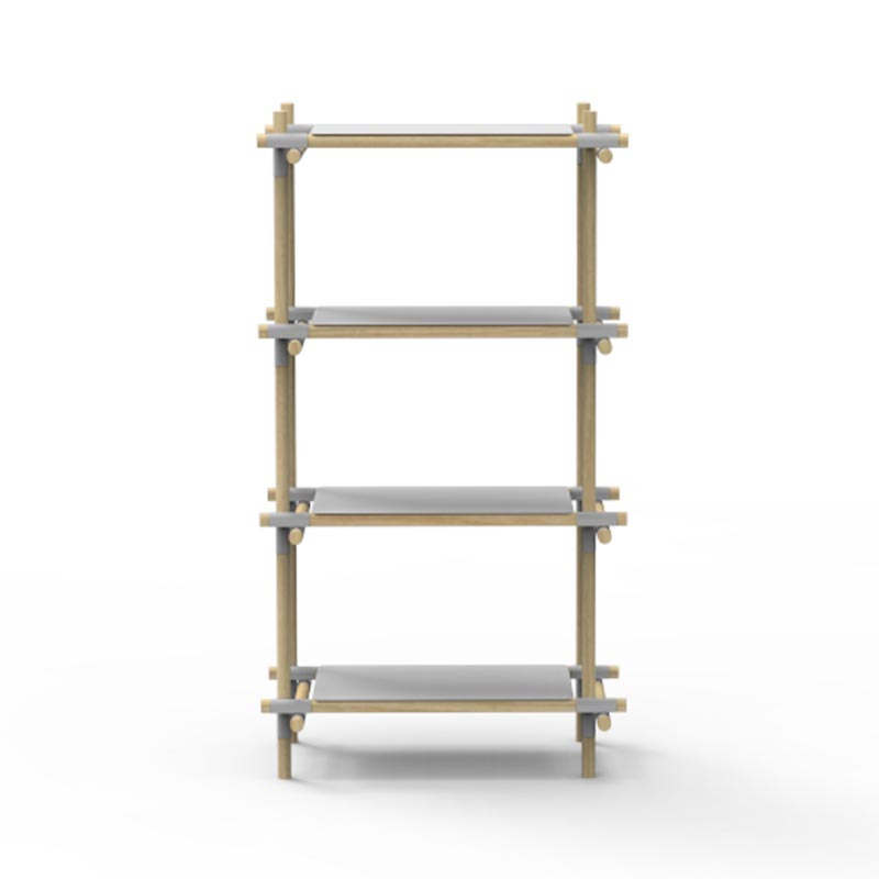 Menu Stick Narrow Shelving System by Jan & Henry Olson and Baker - Designer & Contemporary Sofas, Furniture - Olson and Baker showcases original designs from authentic, designer brands. Buy contemporary furniture, lighting, storage, sofas & chairs at Olson + Baker.