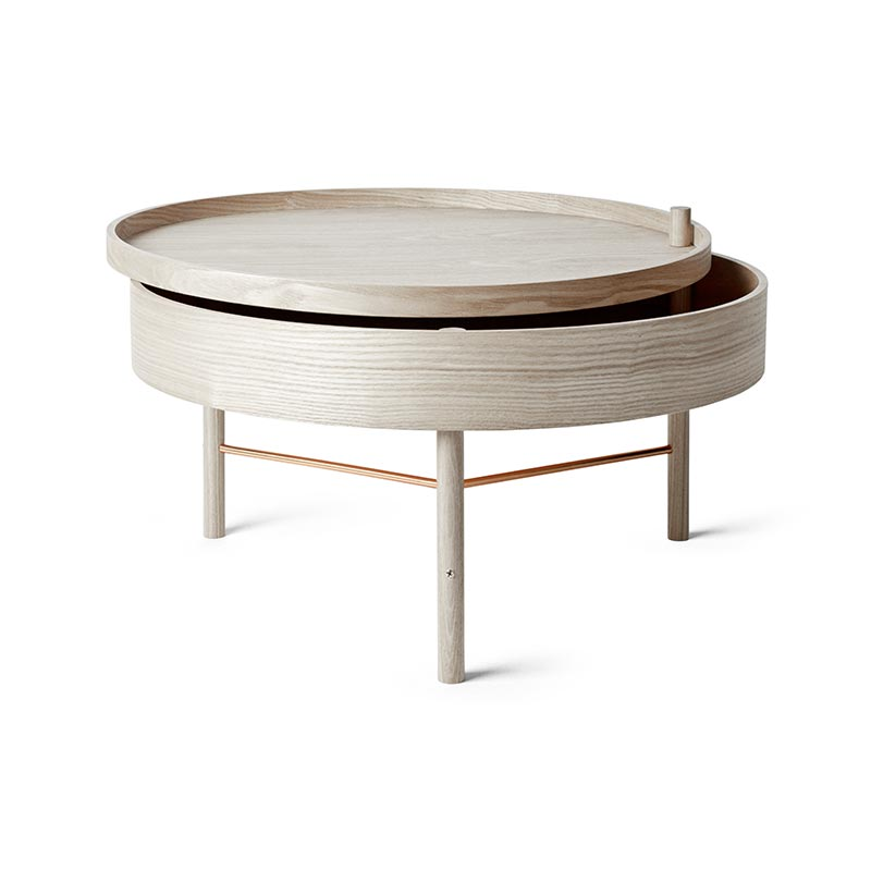 Menu Turning Table by Theresa Arns Olson and Baker - Designer & Contemporary Sofas, Furniture - Olson and Baker showcases original designs from authentic, designer brands. Buy contemporary furniture, lighting, storage, sofas & chairs at Olson + Baker.