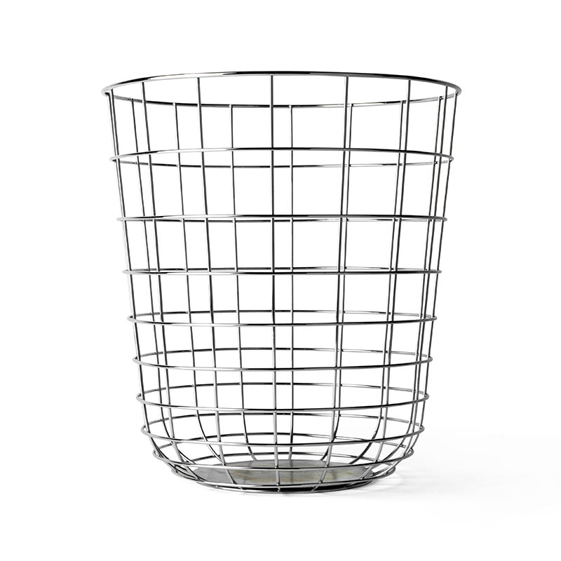 Menu Wire Bin by Norm Architects Olson and Baker - Designer & Contemporary Sofas, Furniture - Olson and Baker showcases original designs from authentic, designer brands. Buy contemporary furniture, lighting, storage, sofas & chairs at Olson + Baker.