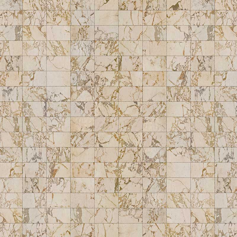 NLXL Beige Tiles 24.4x15.4cm Wallpaper by Piet Hein Eek Olson and Baker - Designer & Contemporary Sofas, Furniture - Olson and Baker showcases original designs from authentic, designer brands. Buy contemporary furniture, lighting, storage, sofas & chairs at Olson + Baker.