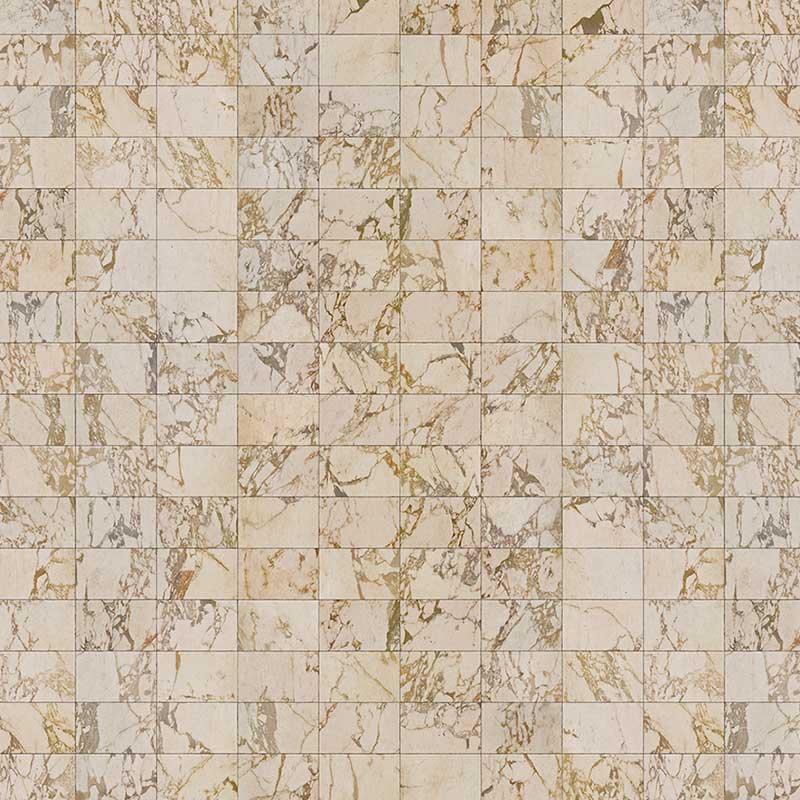 NLXL Beige Tiles 24.4x15.4cm Wallpaper by Piet Hein Eek