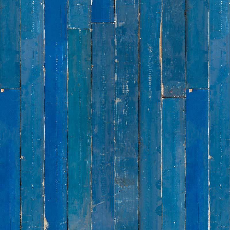 NLXL Materials Blue Scrapwood Wallpaper by Piet Hein Eek
