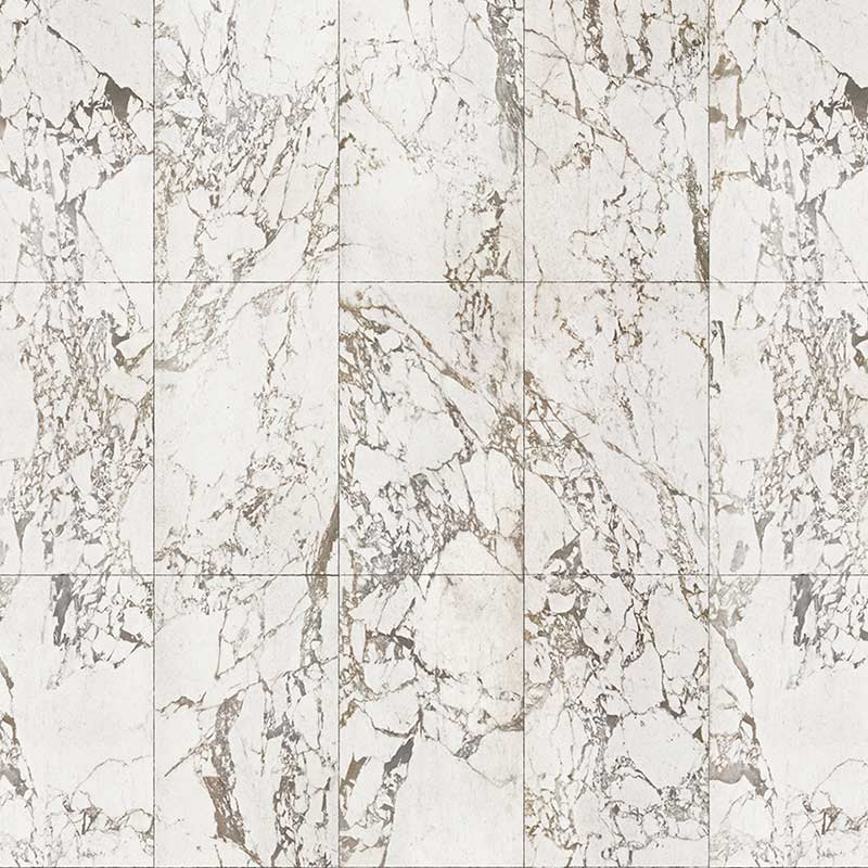 NLXL White Marble Tiles 48.7x76.9cm Wallpaper by Piet Hein Eek Olson and Baker - Designer & Contemporary Sofas, Furniture - Olson and Baker showcases original designs from authentic, designer brands. Buy contemporary furniture, lighting, storage, sofas & chairs at Olson + Baker.
