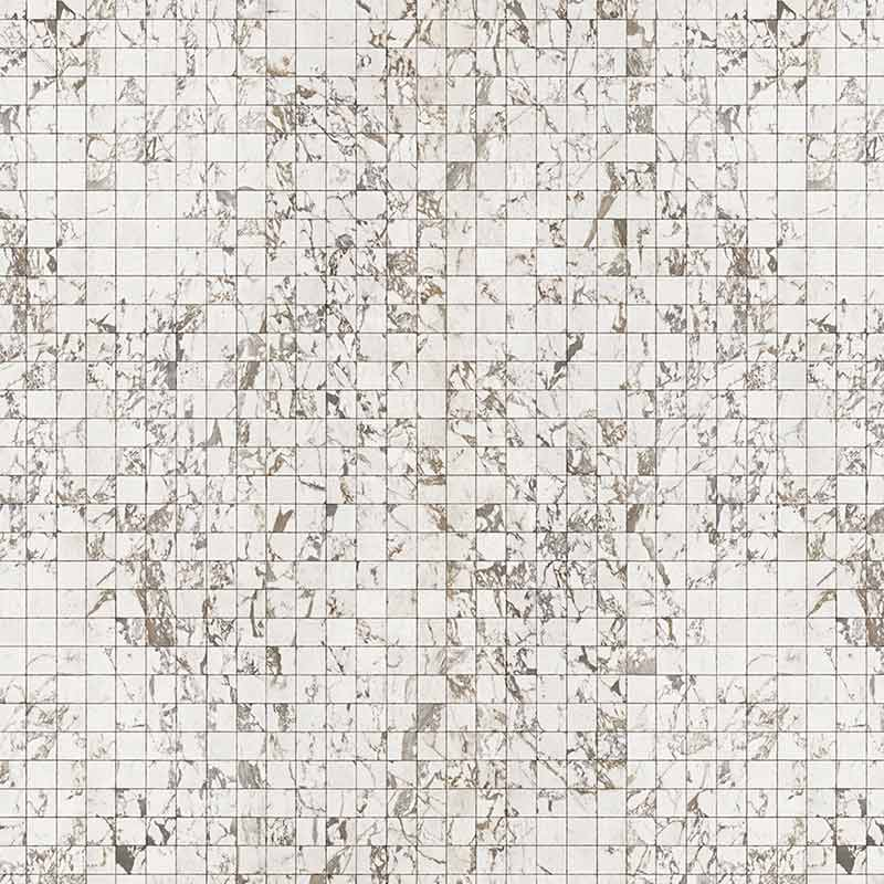 NLXL White Marble Tiles 8.1x7.7cm Wallpaper by Piet Hein Eek Olson and Baker - Designer & Contemporary Sofas, Furniture - Olson and Baker showcases original designs from authentic, designer brands. Buy contemporary furniture, lighting, storage, sofas & chairs at Olson + Baker.
