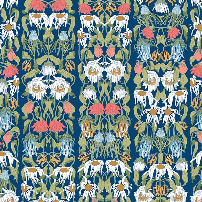 NLXL Withered Flowers Colour Wallpaper by Studio Job