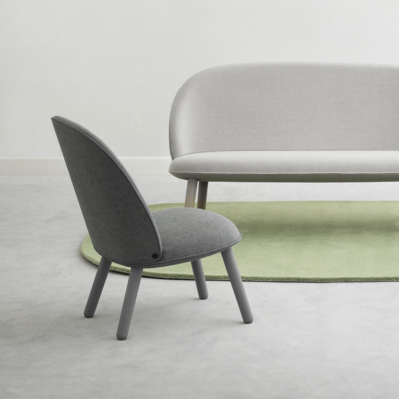 Normann-Copenhagen-Ace-Lounge-Chair-by-Hans-Hornemann-1 Olson and Baker - Designer & Contemporary Sofas, Furniture - Olson and Baker showcases original designs from authentic, designer brands. Buy contemporary furniture, lighting, storage, sofas & chairs at Olson + Baker.