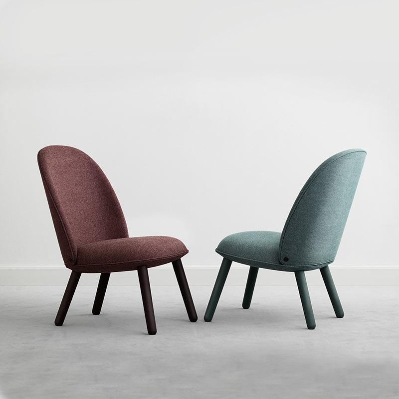 Normann-Copenhagen-Ace-Lounge-Chair-by-Hans-Hornemann-2 Olson and Baker - Designer & Contemporary Sofas, Furniture - Olson and Baker showcases original designs from authentic, designer brands. Buy contemporary furniture, lighting, storage, sofas & chairs at Olson + Baker.