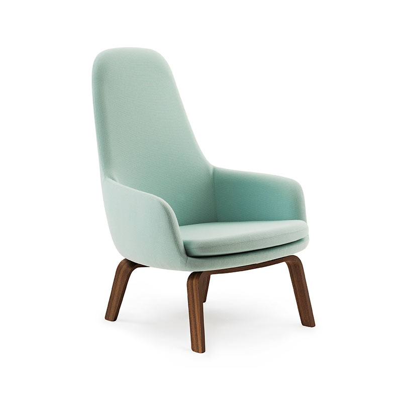 Normann Copenhagen Era High Lounge Chair by Simon Legald Olson and Baker - Designer & Contemporary Sofas, Furniture - Olson and Baker showcases original designs from authentic, designer brands. Buy contemporary furniture, lighting, storage, sofas & chairs at Olson + Baker.