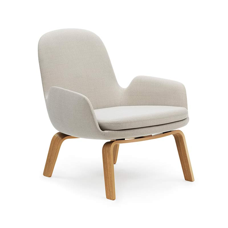 Normann Copenhagen Era Low Lounge Chair by Simon Legald Olson and Baker - Designer & Contemporary Sofas, Furniture - Olson and Baker showcases original designs from authentic, designer brands. Buy contemporary furniture, lighting, storage, sofas & chairs at Olson + Baker.