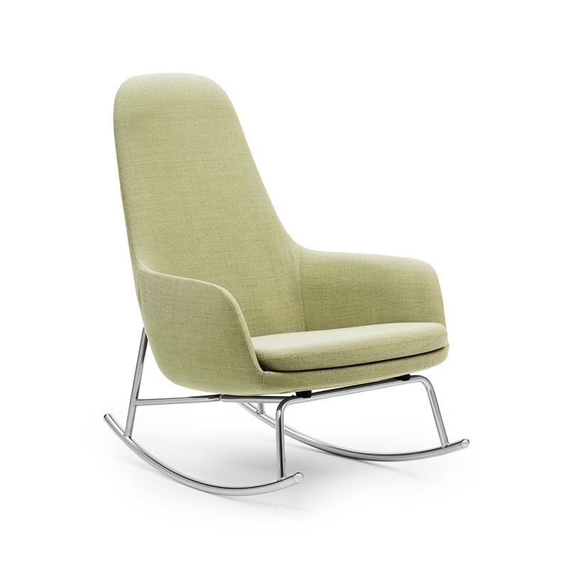 Normann Copenhagen Era Rocking Chair High by Simon Legald Olson and Baker - Designer & Contemporary Sofas, Furniture - Olson and Baker showcases original designs from authentic, designer brands. Buy contemporary furniture, lighting, storage, sofas & chairs at Olson + Baker.