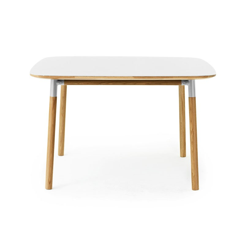 Normann Copenhagen Form 120x120cm Table by Simon Legald Olson and Baker - Designer & Contemporary Sofas, Furniture - Olson and Baker showcases original designs from authentic, designer brands. Buy contemporary furniture, lighting, storage, sofas & chairs at Olson + Baker.
