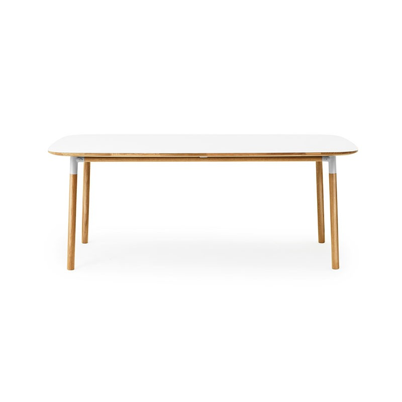 Normann Copenhagen Form 95x200cm Table by Simon Legald Olson and Baker - Designer & Contemporary Sofas, Furniture - Olson and Baker showcases original designs from authentic, designer brands. Buy contemporary furniture, lighting, storage, sofas & chairs at Olson + Baker.