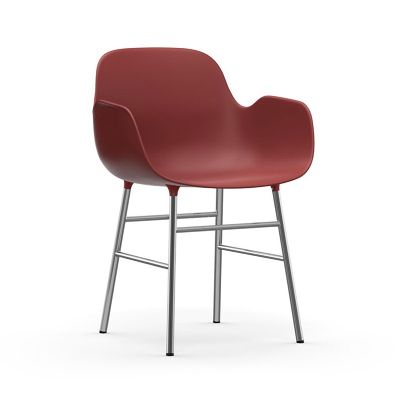 Normann Copenhagen Form Armchair by Simon Legald Olson and Baker - Designer & Contemporary Sofas, Furniture - Olson and Baker showcases original designs from authentic, designer brands. Buy contemporary furniture, lighting, storage, sofas & chairs at Olson + Baker.
