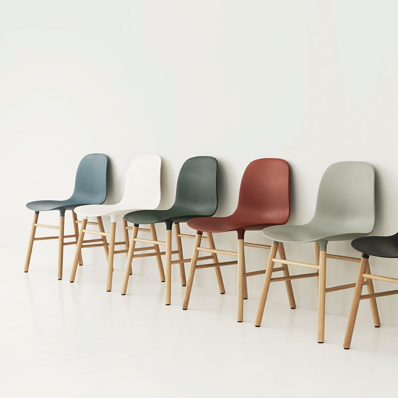 Normann-Copenhagen-Form-Chair-by-Simon-Legald-1 Olson and Baker - Designer & Contemporary Sofas, Furniture - Olson and Baker showcases original designs from authentic, designer brands. Buy contemporary furniture, lighting, storage, sofas & chairs at Olson + Baker.