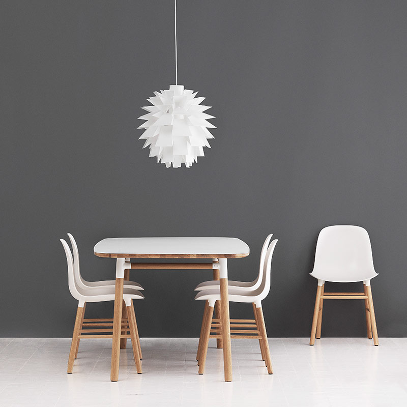 Normann-Copenhagen-Form-Chair-by-Simon-Legald-2 Olson and Baker - Designer & Contemporary Sofas, Furniture - Olson and Baker showcases original designs from authentic, designer brands. Buy contemporary furniture, lighting, storage, sofas & chairs at Olson + Baker.