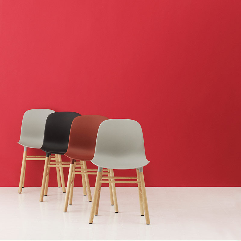 Normann-Copenhagen-Form-Chair-by-Simon-Legald-3 Olson and Baker - Designer & Contemporary Sofas, Furniture - Olson and Baker showcases original designs from authentic, designer brands. Buy contemporary furniture, lighting, storage, sofas & chairs at Olson + Baker.