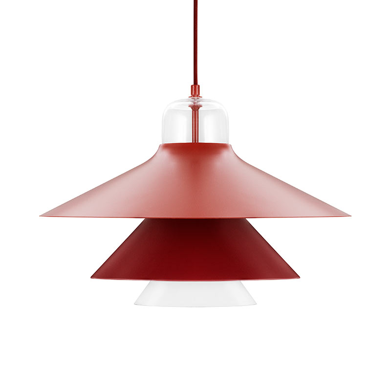 Normann Copenhagen Ikono Pendant Light by Simon Legald Olson and Baker - Designer & Contemporary Sofas, Furniture - Olson and Baker showcases original designs from authentic, designer brands. Buy contemporary furniture, lighting, storage, sofas & chairs at Olson + Baker.