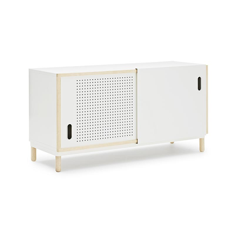 Normann Copenhagen Kabino Sideboard by Simon Legald Olson and Baker - Designer & Contemporary Sofas, Furniture - Olson and Baker showcases original designs from authentic, designer brands. Buy contemporary furniture, lighting, storage, sofas & chairs at Olson + Baker.