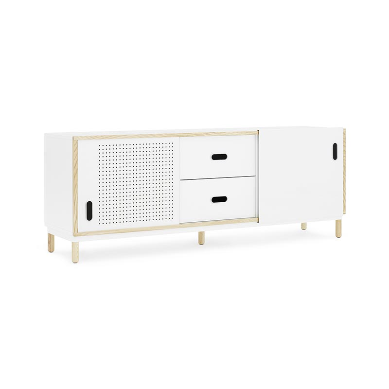 Normann Copenhagen Kabino Sideboard with Drawers by Simon Legald Olson and Baker - Designer & Contemporary Sofas, Furniture - Olson and Baker showcases original designs from authentic, designer brands. Buy contemporary furniture, lighting, storage, sofas & chairs at Olson + Baker.
